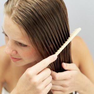 Linhaça nos cabelos